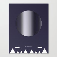 New Moon - Moon Phases Canvas Print