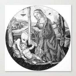 In Vitro Conception Canvas Print