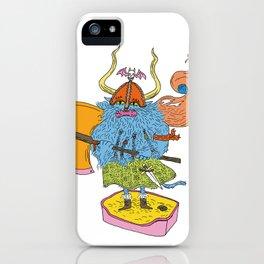 Viking Cat iPhone Case