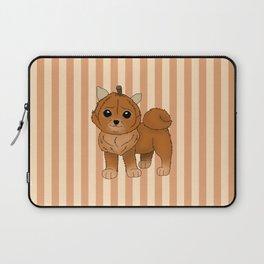 Pumpkeranian Laptop Sleeve