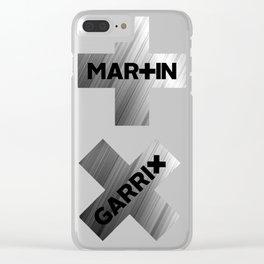 MARTIN GARRIX METALIC Clear iPhone Case