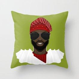 Yoruba Gang Throw Pillow