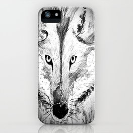 An inquisitive look  iPhone Case