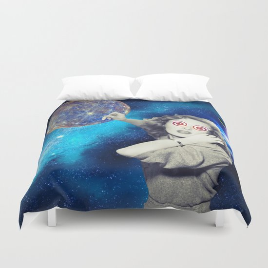 Phoning Duvet Cover