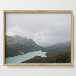Peyto Lake, Banff National Park Serving Tray