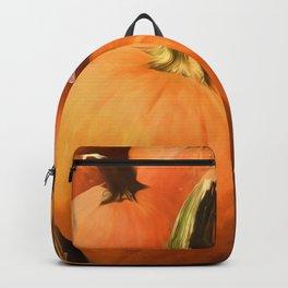 Pumpkins on Cart Backpack