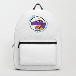 Derpple the Dinosaur Backpack