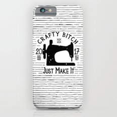 Crafty B*tch - SEW - Just Make It! Pure Handmade - Do It Yourself iPhone 6s Slim Case