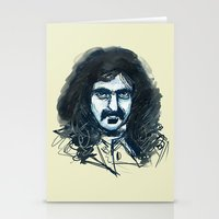 zappa Stationery Cards featuring Zappa by Katie Bumdesu Whittle