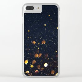 Pennies and Stars Falling From Heaven Clear iPhone Case