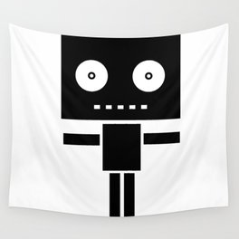 Robot Pop Wall Tapestry