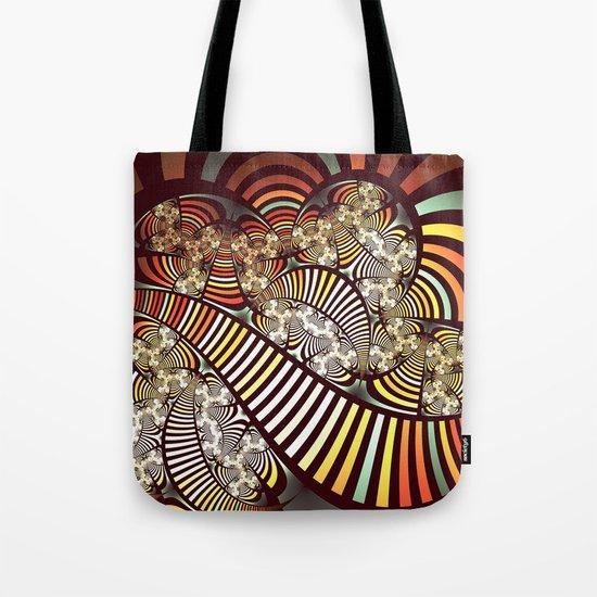 Vintage fractal 1 Tote Bag