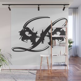 Lion Eyes Wall Mural