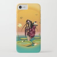 guardians iPhone & iPod Cases featuring GUARDIANS #1 by ANVIK