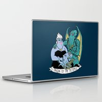 under the sea Laptop & iPad Skins featuring Under The Sea by Hillary White