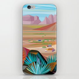 La Pimeria, West Phoenix iPhone Skin