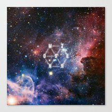Monster - EXO inspired Canvas Print
