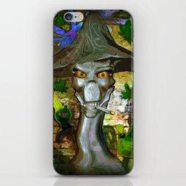 Mikey's Mushroom Skull iPhone Skin