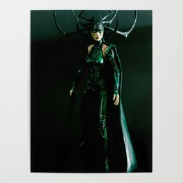 It's come to my attention that you don't know who I am. I am Hela. Odin's firstborn... Poster