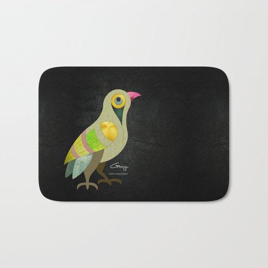 Singing Armenian Bird Bath Mat