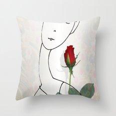 A non-word mood Throw Pillow