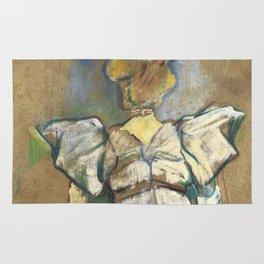 """Henri de Toulouse-Lautrec """"Jane Avril"""" Rug"""