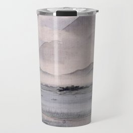 Utagawa Hiroshige - Fuji Marsh, Suruga province Travel Mug