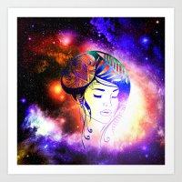 iris Art Prints featuring Iris  by haroulita