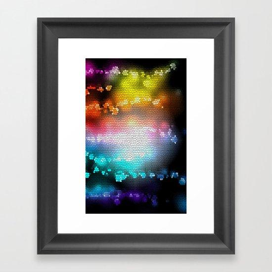 COLORS III Framed Art Print