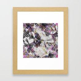 Broken fortune Framed Art Print