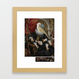 hand some Framed Art Print