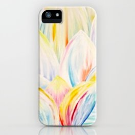 Rainbow Lotus iPhone Case