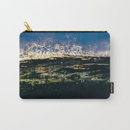 Frayed Edges Carry-All Pouch