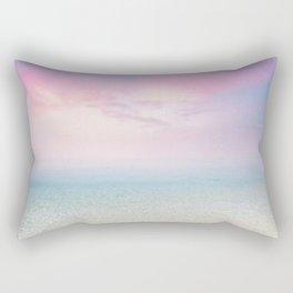 Beach Prints Landscape - Summer Sky Rectangular Pillow