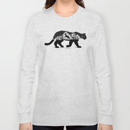 THE MOUNTAIN LION AND THE DEER Long Sleeve T-shirt