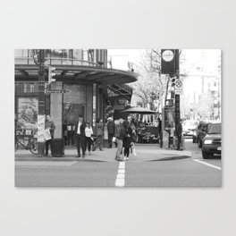 Burrard and Robson Canvas Print