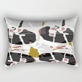 Abstract Mechanical Rectangular Pillow