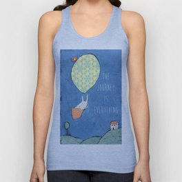 The Journey is Everything Unisex Tank Top