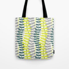 seagrass pattern - teal and lime Tote Bag