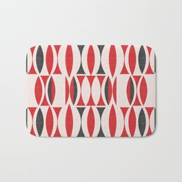 Seventies in Cherry Red (little) Bath Mat