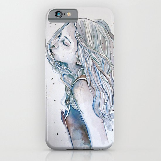 Breeze (variant II), watercolor painting iPhone & iPod Case