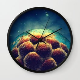 Stem cell research Wall Clock