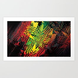 Hot Tropic Art Print