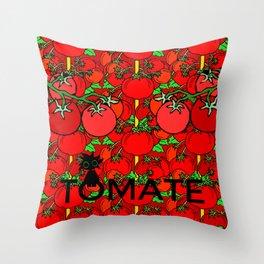 Tomate Throw Pillow