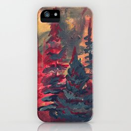 Kinross Fall iPhone Case