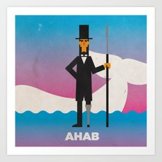 Ahab Art Print