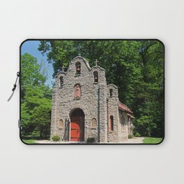 Lourdes University-  Portiuncula  Chapel in the Spring III Laptop Sleeve