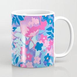 Pastel Watercolor Flowers Coffee Mug