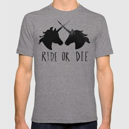 Ride or Die x Unicorns T-shirt