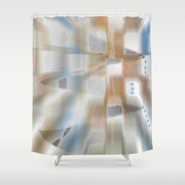 Windows Space Shower Curtain
